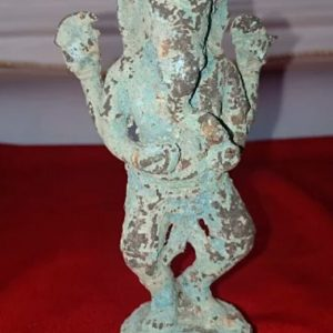 Ancient Statue Of Ganesha.
