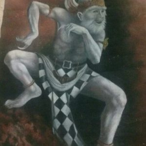 Anoman Mystical Painting