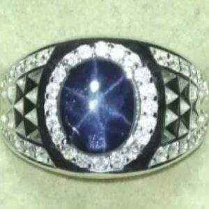 Blue Star Stone