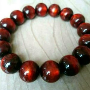 Red Bahar Root Bracelet Amulet