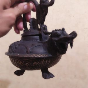 Ageman Teapot Dragon For Wealth