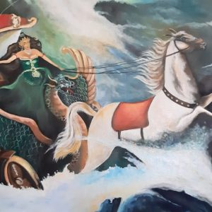 The Magical Painting Of The Queen Of Kidul's Train