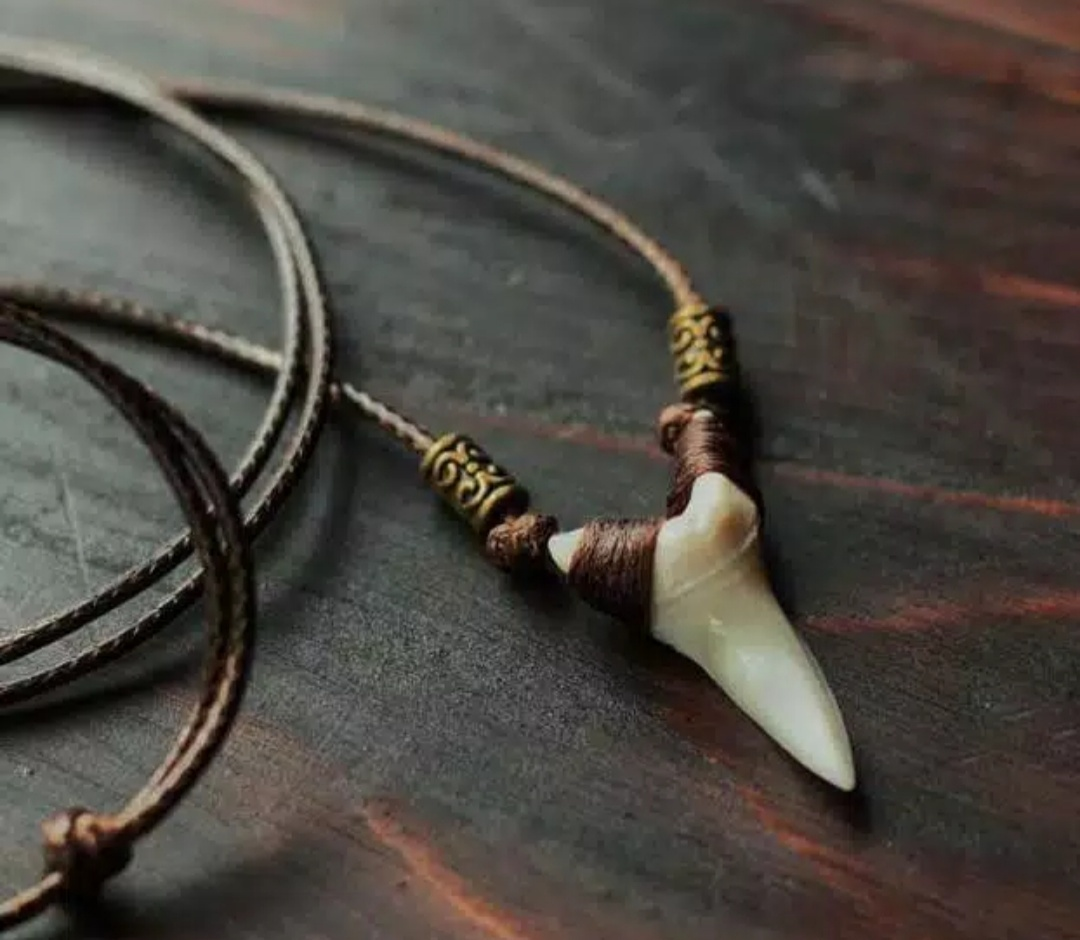 white fang necklace